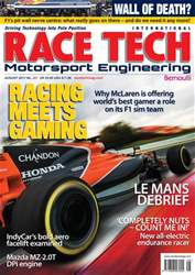 Racetech Issue 201 August 2017 issue Racetech Issue 201 August 2017