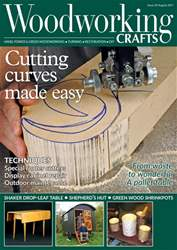 Woodworking Crafts Magazine issue August 2017