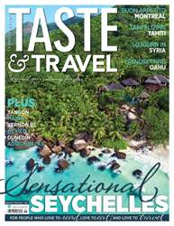 Taste & Travel International issue Summer 2017