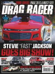 Drag Racer Magazine Cover
