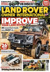 Land Rover Owner issue August 2017