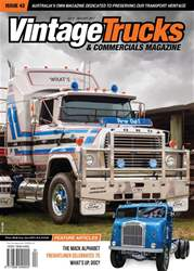 Vintage Trucks & Commercials issue July/August