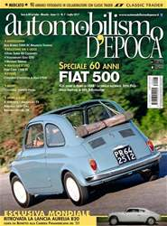 Automobilismo d'Epoca 7 2017 issue Automobilismo d'Epoca 7 2017