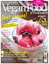 Vegan Food & Living August issue Vegan Food & Living August