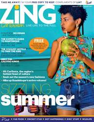 ZiNG Caribbean Issue 38, July 2017 issue ZiNG Caribbean Issue 38, July 2017