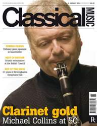 Classical Music 14 January 2012 issue Classical Music 14 January 2012