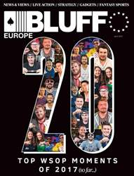 Bluff Europe July 2017 issue Bluff Europe July 2017