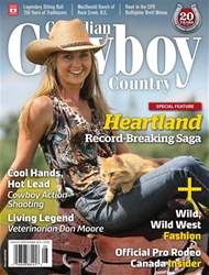 Canadian Cowboy Country issue AugSep 2017