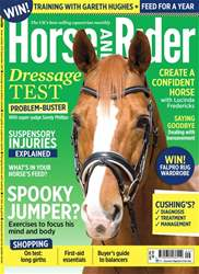 Horse&Rider Magazine – September 2017 issue Horse&Rider Magazine – September 2017