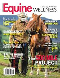 Equine Wellness issue Aug/Sept 2017