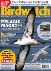 Birdwatch Magazine issue August 2017 - FREE OFFICIAL BIRDFAIR 2017 PROGRAMME WITH THIS ISSUE