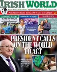 Irish World issue Irish World