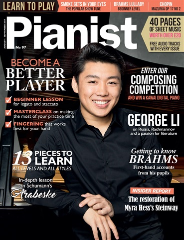 Pianist issue Issue 97: August - September17