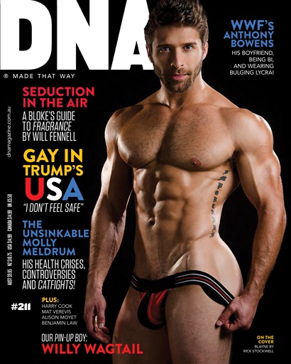 magazine men Dna naked