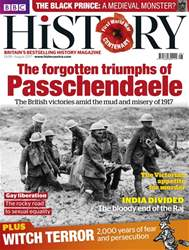 BBC History Magazine issue August 2017