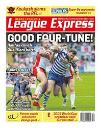League Express issue 3080