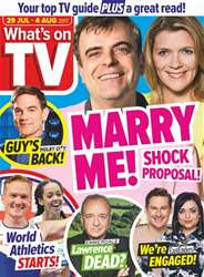 What's on TV issue 29th July 2017