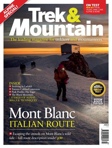 Trek & Mountain Magazine issue Jul-Aug 17