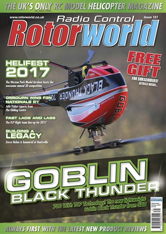 Radio Control Rotor World issue 131 September 2017