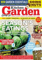 Kitchen Garden Magazine issue December 2017