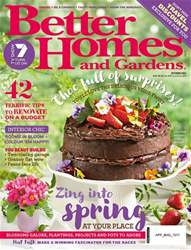 Better Homes and Gardens Australia issue October 2017
