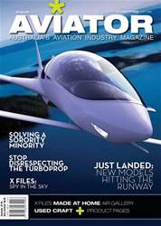 Aviator Magazine Cover