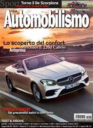 Automobilismo 8 2017 issue Automobilismo 8 2017