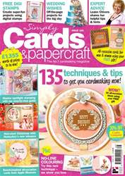 Simply Cards & Papercraft issue Issue 166