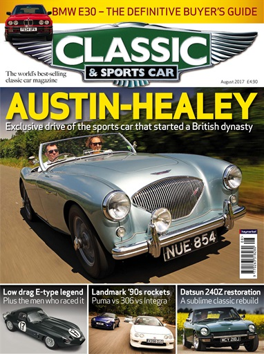Classic Sports Car Magazine August Subscriptions Pocketmags - Sports cars magazine