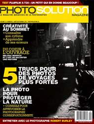 Photo Solution Août-Septembre 2017 issue Photo Solution Août-Septembre 2017