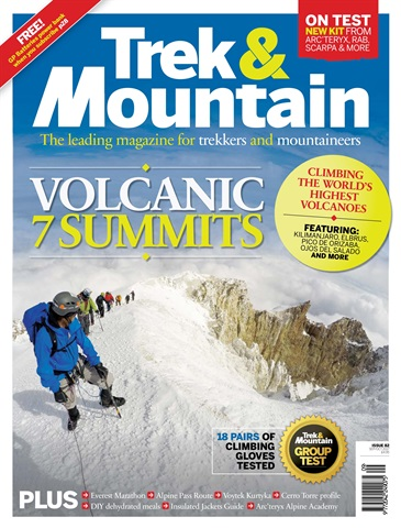 Trek & Mountain Magazine issue Sep-Oct 17