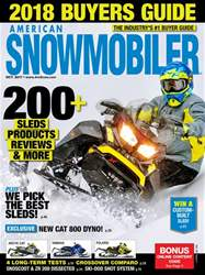 American Snowmobiler issue October 2017