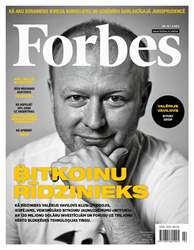Forbes Latvia issue Forbes Latvia #76