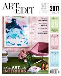 Art Edit issue Art Edit Winter issue 14