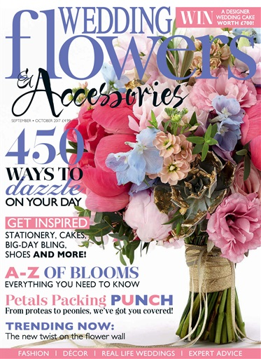 wedding flowers magazine sept oct 2017 subscriptions pocketmags. Black Bedroom Furniture Sets. Home Design Ideas
