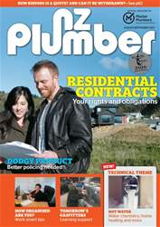 NZ Plumber August-September 2017 issue NZ Plumber August-September 2017