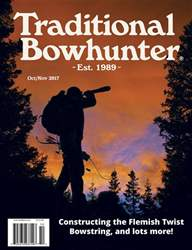 Traditional Bowhunter Magazine issue Oct/Nov 2017