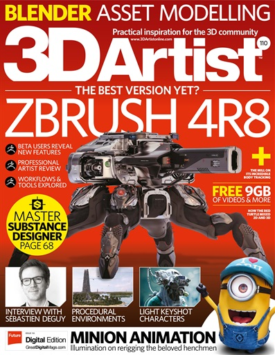 3D Artist Digital Issue