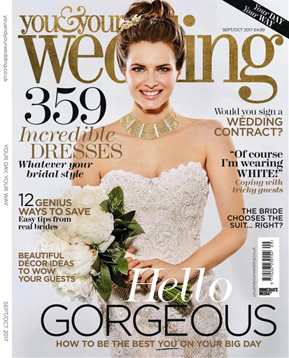 You your wedding magazine september and october 2017 title cover preview you your wedding preview junglespirit Gallery