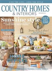 Country Homes & Interiors issue September 2017