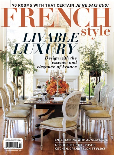 Flea Market D Cor Magazine French Style Fall 2017