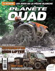 Planète Quad Magazine Cover