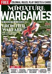 Miniature Wargames issue Issue 413 September 2017