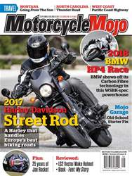Motorcycle Mojo issue September/October17