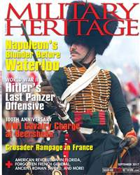 Military Heritage issue September 2017