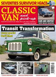 Classic Van & Pick-up Magazine Cover