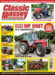 Classic Massey issue No. 70: MF 698T Is it underrated?