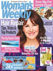 Woman's Weekly Magazine Cover