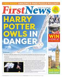 First News Issue 583 issue First News Issue 583