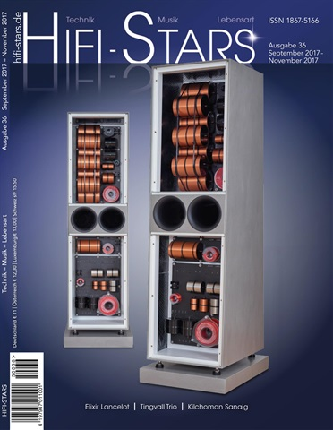 HiFi Stars Magazin issue Ausgabe 36